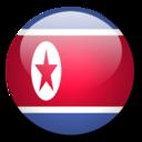 korea,north,flag icon