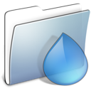Folder, Graphite, Smooth, Torrents icon