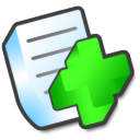 new,document,file icon