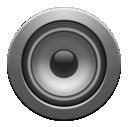 gray, enceinte icon