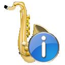 Instrument, Saxophone icon