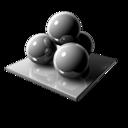 Spheres Silver icon