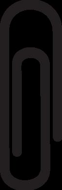 Big paper clip icon
