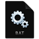 file, bat icon