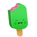 emot, funny, fun, cream, happy, smile, ice, emotion icon
