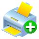 Add, Printer icon