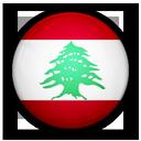 of, flag, lebanon icon