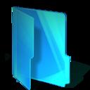 blue,folder icon