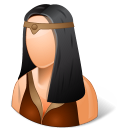 Historical Barbarian Female icon