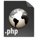 php, paper, file, document icon