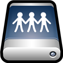 Device, Drive, External, Sharepoint icon