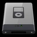 Grey iPod B icon