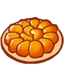 Tarte tatin icon