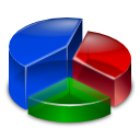 pie, statistics, analytics, chart, diagram icon