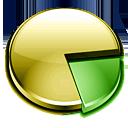 pie, chart, graph, statistics icon
