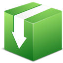 Box, Download icon