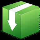 Box, Download icon