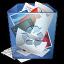 recycle, bin, full icon
