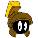 marvin,martian,bronze icon
