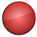 Blank Badge Red icon