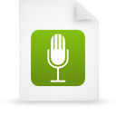 file, green, document, paper icon