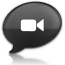 ichat,black icon