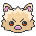 mankey, pokemon, game, go, play icon