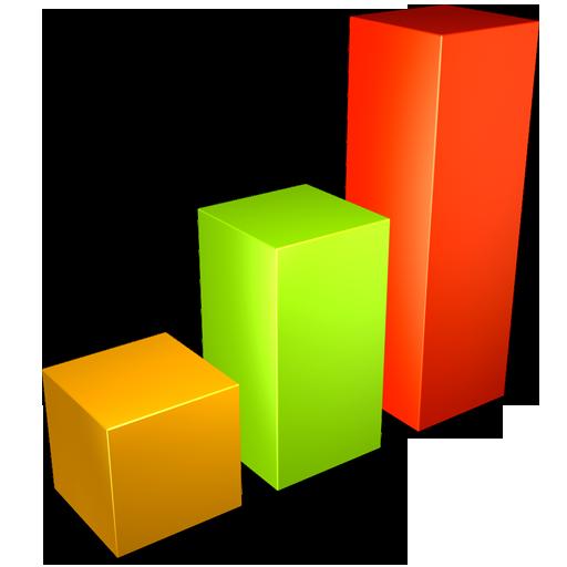 graph, chart, bar icon