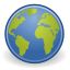 64, glob, gnome, web, emblem, world icon