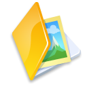 folder,image,yellow icon