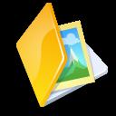 folder,image,yellow icon