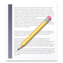 report, write, document, text icon