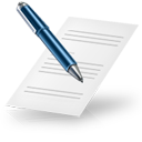 writing, text, file, document, write, edit icon