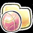 Basketball, Folder, g icon