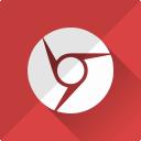 web, chrome, communication, internet, google, browser icon