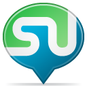 Balloon, Social, Stumbleupon icon