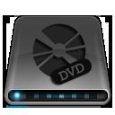 disc, drive, dvd, dark, multimedia, disk icon