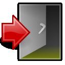 application,exit,quit icon