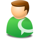 user,web,technorati icon