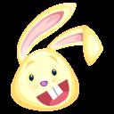 yellow rabbit icon