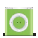 ipod, nano, green, apple, festival icon
