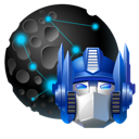 my, places, network, optimus, transformers icon
