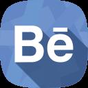 social network, behance, portfolio icon