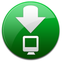 download,descending,fall icon