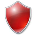 shield,red,antivirus icon
