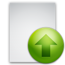 up, file, ascend, document, increase, upload, ascending, rise, paper icon