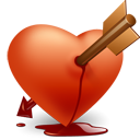 heart, valentine's day, love icon