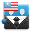 american flag, flag, nationalism, election, patriot icon