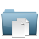 folder, file, paper, document icon