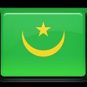 mauritania, flag icon